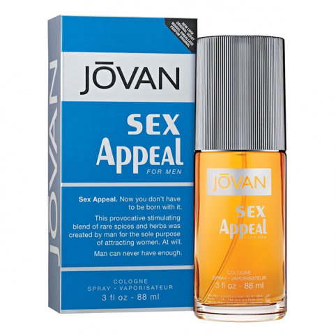 Jovan sex appeal men edc 88ml - JOVAN. Perfumes Paris