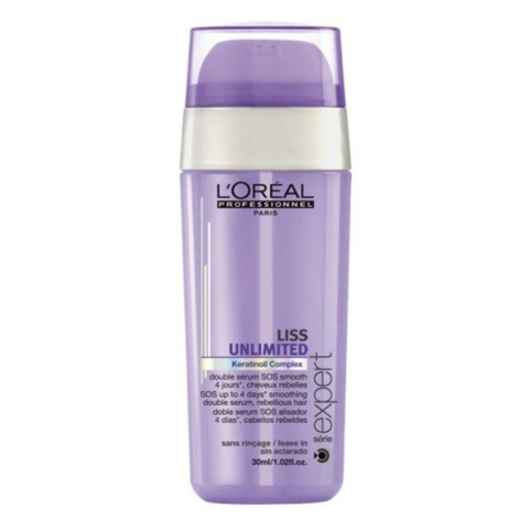 Liss Unlimited Doble Sérum Alisador - L'OREAL PROFESSIONAL. Perfumes Paris