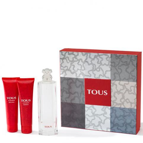 Set tous edt 90ml+body 100ml+gel 100ml - TOUS. Perfumes Paris
