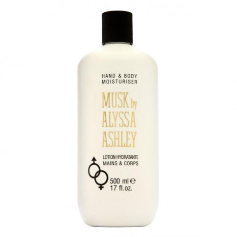 Alyssa Ashley Musk Locion Cuerpo y Manos 500ml - ALYSSA ASHLEY. Perfumes Paris