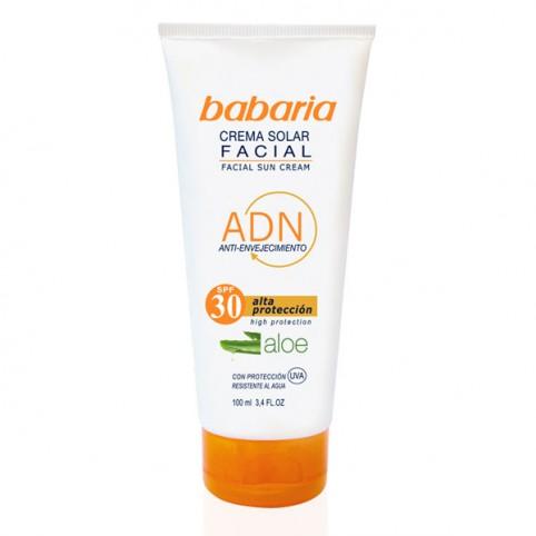 Babaria sol crema facial aloe vera f-30 - BABARIA. Perfumes Paris
