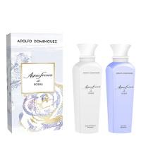 Set Agua de Rosas Gel de Baño 500 ml + Locion corporal 500 ml - ADOLFO DOMINGUEZ. Comprar al Mejor Precio y leer opiniones