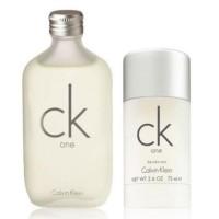 Set CK ONE EDT 100ml + Deo Stick 75ml - CALVIN KLEIN. Comprar al Mejor Precio y leer opiniones
