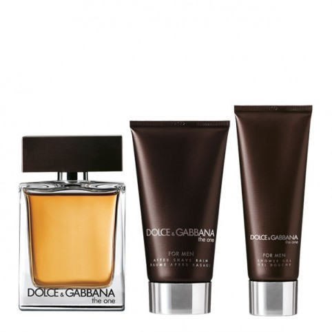 Set dolce gabbana the one men edt 100ml+asb 75ml+ gel 50ml - DOLCE & GABBANA. Perfumes Paris