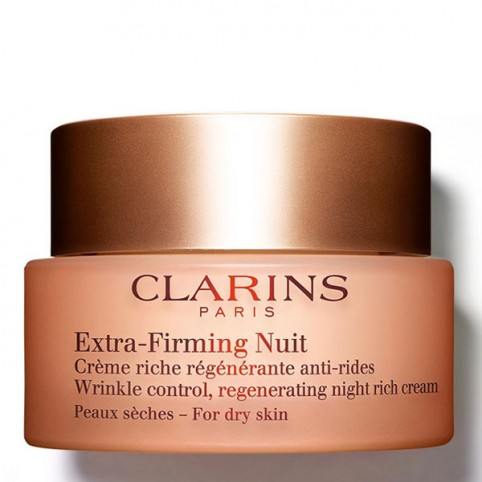 Clarins Extra-Firming Nuit Crema Pieles Secas - CLARINS. Perfumes Paris