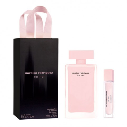 Set narciso for her edp 100ml+edp 10ml - NARCISO RODRIGUEZ. Perfumes Paris