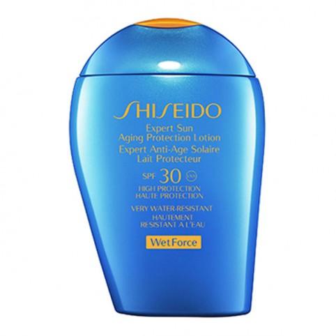 Shiseido Expert Sun Aging Protection Lotion SPF30 WETFORCE - SHISEIDO. Perfumes Paris