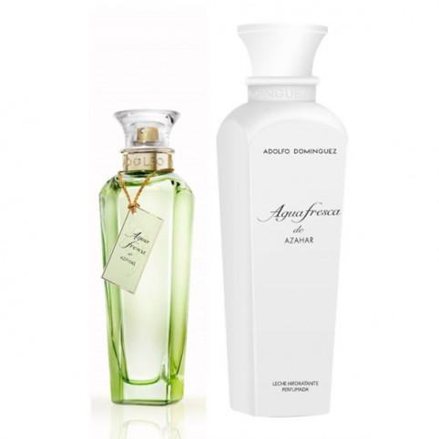 Set Agua Fresca de Azahar Eau de Toilette Adolfo Dominguez - ADOLFO DOMINGUEZ. Perfumes Paris