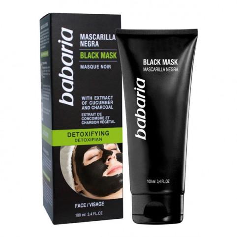 Babaria Mascarilla Negra Detoxificante - BABARIA. Perfumes Paris