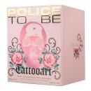 Police To Be Tattooart Woman Eau de Toilette