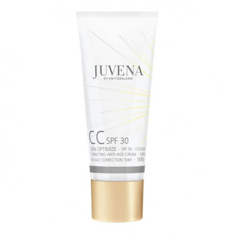 CC Cream Anti Edad - Antimanchas C/Color SPF-30 - JUVENA. Perfumes Paris