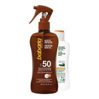 Set Aceite Seco Sol + After-Sun - BABARIA. Comprar al Mejor Precio y leer opiniones