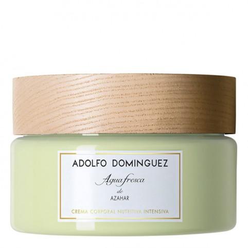 Agua Fresca de Azahar Crema Nutritiva Adolfo Dominguez - ADOLFO DOMINGUEZ. Perfumes Paris