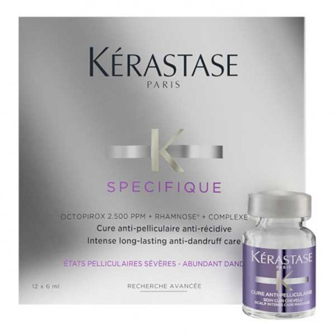 Kérastase Specifique Cure Anti-Pelliculaire - KERASTASE. Perfumes Paris