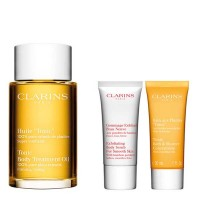 Estuche Clarins Aceite Tónico + Exfoliante Piel + Baño Tónico - CLARINS. Comprar al Mejor Precio y leer opiniones
