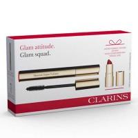 Estuche Clarins Máscara Supra Volume 8 ml + Miniatura Joli Rouge Velvet  - CLARINS. Comprar al Mejor Precio y leer opiniones