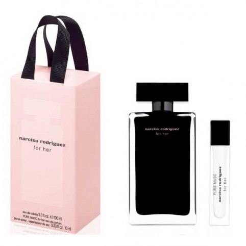 Estuche Narciso For Her Eau de Toilette Pure Musc Eau de Parfum - NARCISO RODRIGUEZ. Perfumes Paris