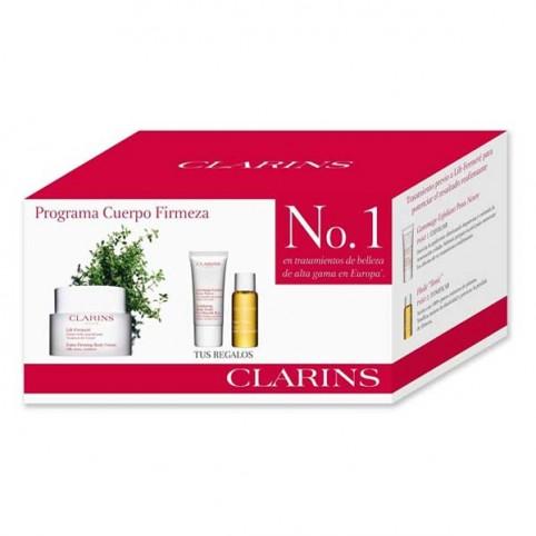 Set Clarins Firmeza Lift Fermete + Exfoliante + Tónico - CLARINS. Perfumes Paris