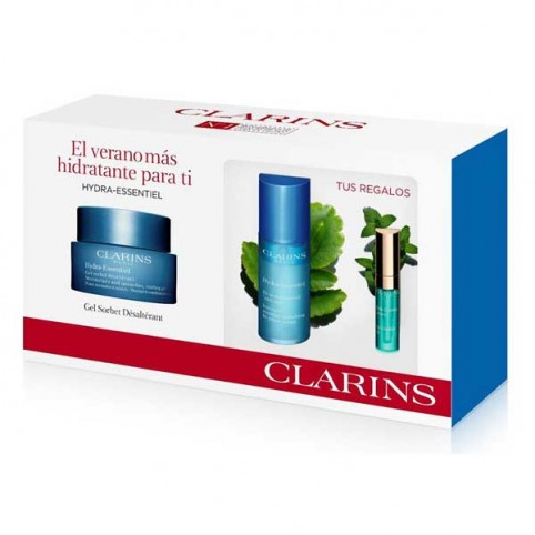 Set Clarins Hydra Essentil Gel Sorbet Biserum Lip Lift - CLARINS. Perfumes Paris