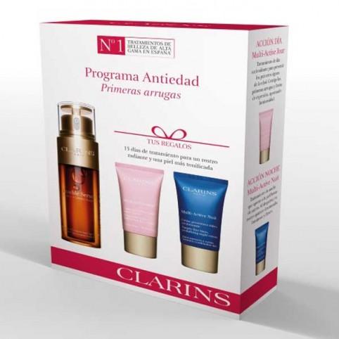 Cofre Clarins Double Serum + Multi Activa - CLARINS. Perfumes Paris