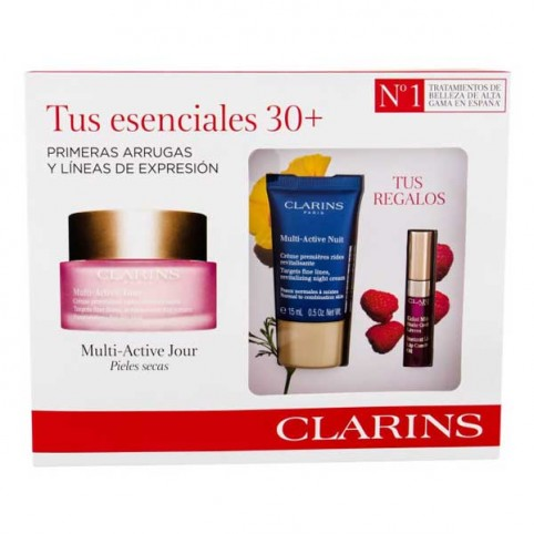 Set Clarins Multi-Active Jour Pieles Secas - CLARINS. Perfumes Paris
