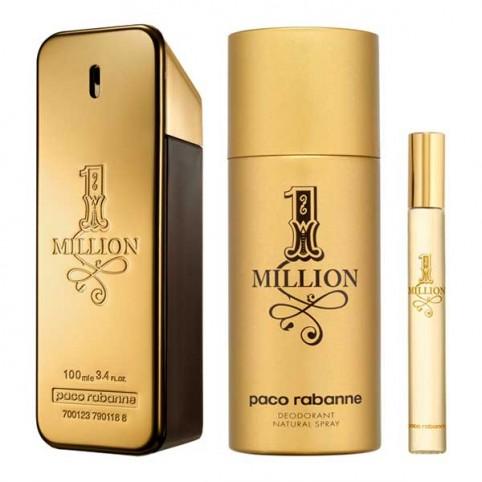 Estuche Regalo 1 Million Eau de Toilette  Paco Rabanne - PACO RABANNE. Perfumes Paris