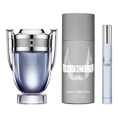Estuche Regalo Invictus Eau de Toilette Paco Rabanne - PACO RABANNE. Perfumes Paris
