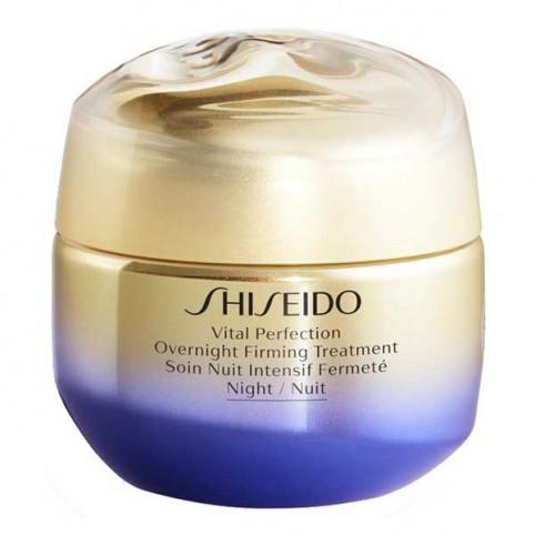 Tratamiento facial Vital Perfection Overnight Firming Treatment 50 ml Shiseido - SHISEIDO. Perfumes Paris