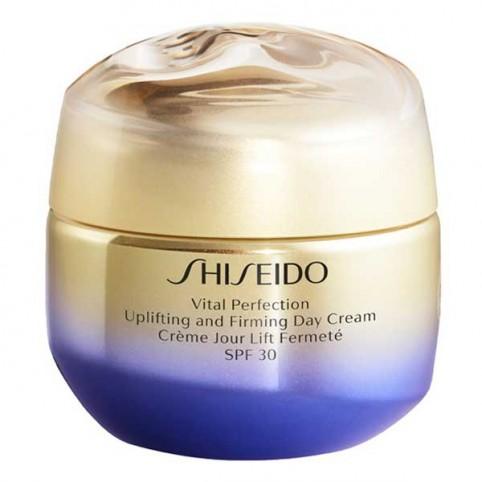 Crema antiarrugas Vital Perfection Uplifting And Firming Day Cream SPF30 50 ml Shiseido - SHISEIDO. Perfumes Paris