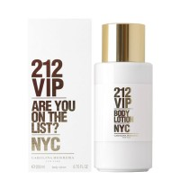 212 Vip Woman Body Lotion - CAROLINA HERRERA. Comprar al Mejor Precio y leer opiniones