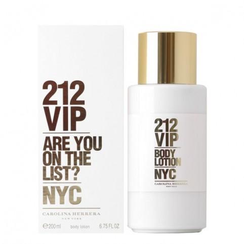 212 Vip Woman Body Lotion - CAROLINA HERRERA. Perfumes Paris