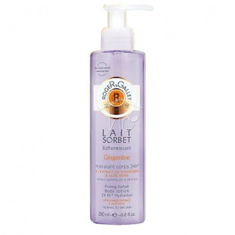 Gingembre Firming Sorbet Body Lotion 200ml - ROGER & GALLET. Perfumes Paris
