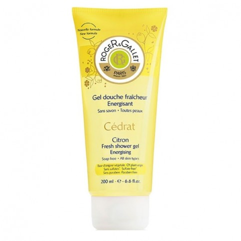 Cedrat Gel Ducha 200ml - ROGER & GALLET. Perfumes Paris