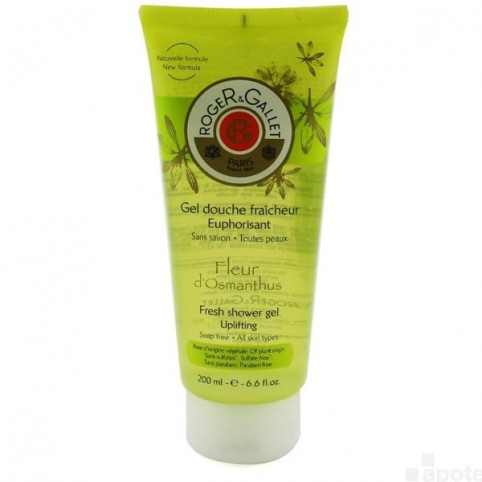 Osmantus Gel Crema Ducha 200ml - ROGER & GALLET. Perfumes Paris