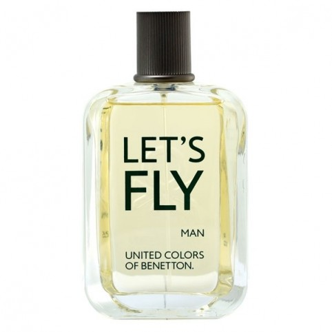 Let's Fly Men EDT 100ml - BENETTON. Perfumes Paris