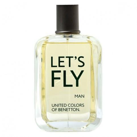Let's Fly Men EDT 100ml - BENETTON. Perfumes Paris