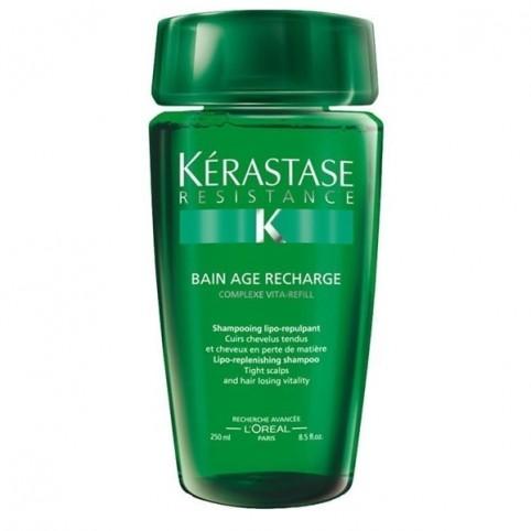 Resistance Champu Age Recharge 250ml - KERASTASE. Perfumes Paris