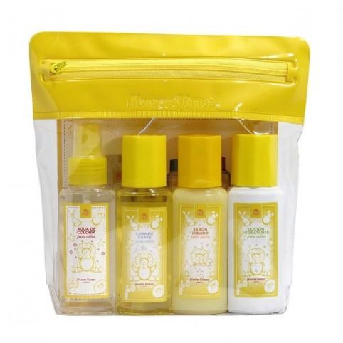 Neceser de Viaje Agua de Colonia para Niños 4x90ml - ALVAREZ GOMEZ. Perfumes Paris