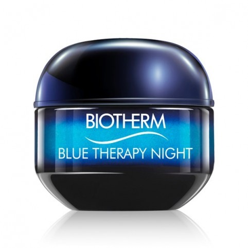 Blue Therapy Crema Noche 50ml - BIOTHERM. Perfumes Paris