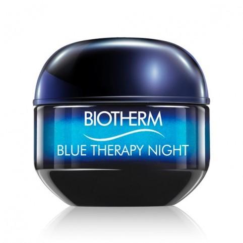 Blue Therapy Crema Noche 50ml - BIOTHERM. Perfumes Paris