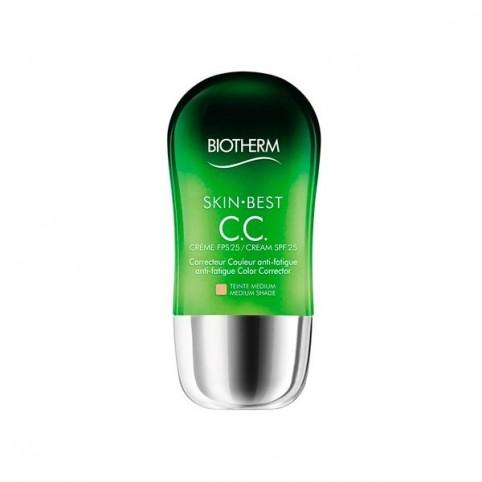 Skin Best CC Cream SPF 25 Tono Medio 30ml - BIOTHERM. Perfumes Paris