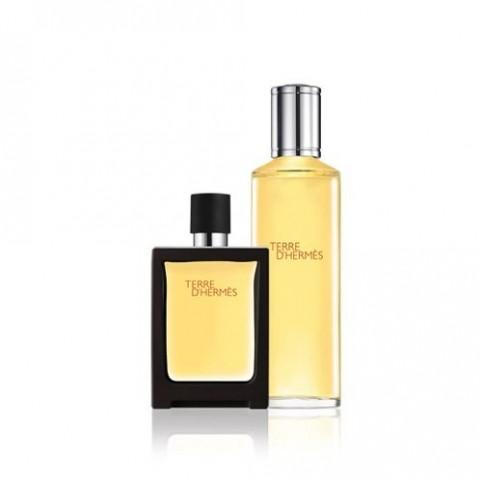 Terre d'Hermes EDT 30ml + Recarga 125ml - HERMES. Perfumes Paris