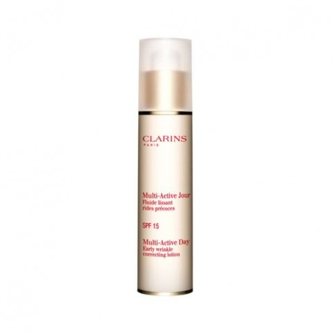Multi-Active Fluido Día Piel Normal SPf-15 50ml - CLARINS. Perfumes Paris