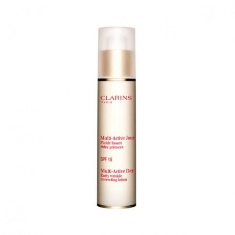 Multi-Active Fluido Día Piel Normal SPf-15 50ml - CLARINS. Perfumes Paris