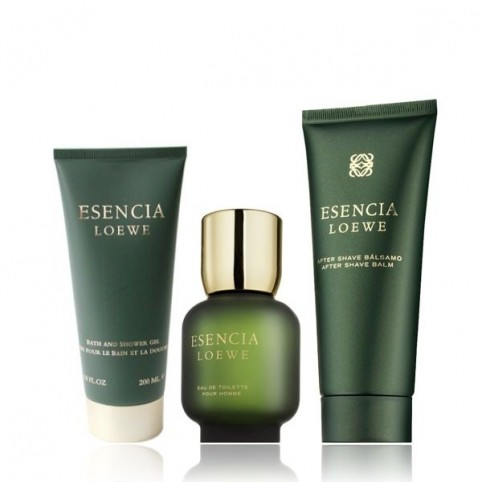Set Esencia Loewe EDT 100ml + After Shave Balm 75ml + Gel 75ml - LOEWE. Perfumes Paris