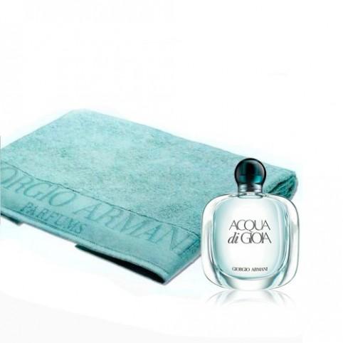 Estuche Acqua di Gioia EDP 100ml + Toalla - ARMANI. Perfumes Paris