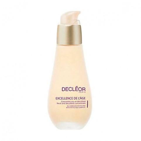Decleor Excellence de l'Age Antiedad Global Concentre Cuello 50ml - DECLEOR. Perfumes Paris