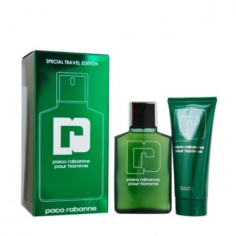 Set Paco Rabanne Pour Homme EDT 100ml + Gel 100ml - PACO RABANNE. Perfumes Paris