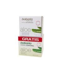 Babaria Aloe Crema Anti-arrugas 50ml + Crema Cuerpo 200ml - BABARIA. Comprar al Mejor Precio y leer opiniones