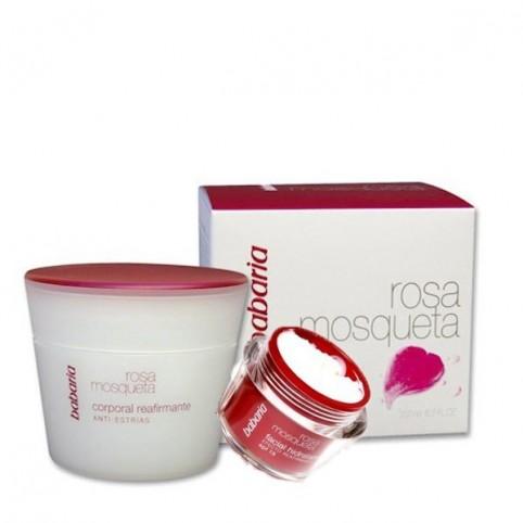 Babaria Rosa Mosqueta SPF15 50ml + Crema Corporal 200ml - BABARIA. Perfumes Paris